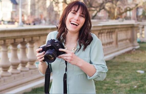 Photographer Amy Lawson of Maison, Wisconsin